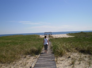 North Truro bay beach