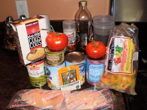 Perfect easy soup ingredients