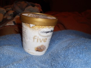 Haagen Daz Five Brown Sugar - yum!
