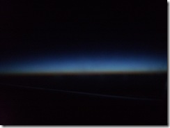 Dawn breaking over Ireland