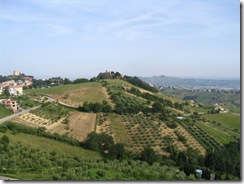 The Marche region of Italy