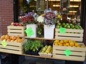 Neighborhood fruit stand