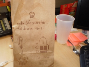 I love Flour's bags!