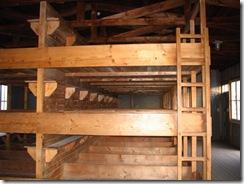 Recreated prisoner bunks