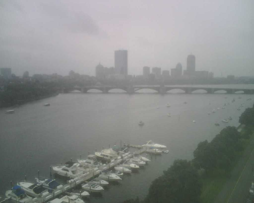 View of the Charles and Boston
