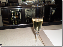 Carneros Inn, bubbly