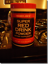 super red drink powder
